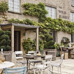 the wild rabbit, cotswolds