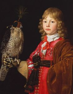 'Boy with a Falcon', 1671, by Wallerant Vaillant