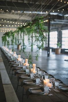 Industrial Summer Dinner Party – Style Me Pretty