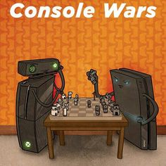 Console wars ps4 wins!!