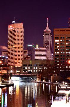 Indianapolis...the best part?! It's Colts land!!