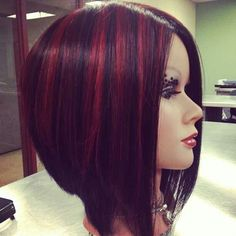 aline inverted bob - Google Search