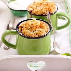 Crumble aux pommes caramélisées maison Cookie Pie, Butter, Coffee Time, Baked Goods, Macaroni And Cheese, Food And Drink, Sweets, Baking, Fruit