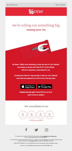 A whole new way to Chick-fil-A® is coming - Really Good Emails
