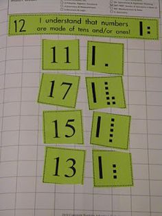 Math Journals: Place Value, or Math Game- match number to place value block pictures