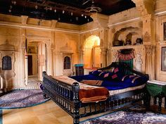 Hotel Shreenath Palace, Jaisalmer, Rajasthan The Hotel Shreenath Palace is set inside a haveli (the largest after the local Maharajah Around The World In 80 Days, Summer Palace, Jaisalmer, Cozy Cottage, Best Hotels, Luxury Hotels, India Travel, Hotel Reviews, Interior And Exterior