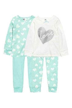 Lot de 2 pyjamas en jersey | H&M
