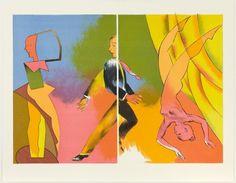 Split Performance (Second Thoughts Portfolio), by Allen Jones. Allen Jones is one of the last living Pop Artists. Jones was one of a group of students which included D. Roy Lichtenstein, Andy Warhol, National Museum Of Wales, Chelsea School Of Art, Allen Jones, Pop Art, Wessel, Royal Academy Of Arts, Artist Bio