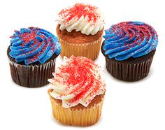 Our Star Spangled Cupcakes