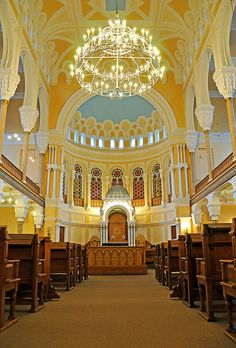 Grand Choral Synagogue, St. Petersburg, Russia
