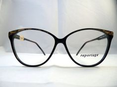 Pure cateye eyeglass frames - Reportage by Dolomiti Vintage Eyeglasses 1980s for Women - NOS $55