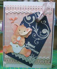 My baby elephant by Magouille - Cards and Paper Crafts at Splitcoaststampers