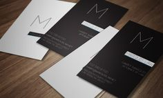 Law Firm Business Cards by Brent Anderson, via Behance