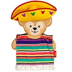 Duffy the Disney Bear Mexico Costume -- 17'' H