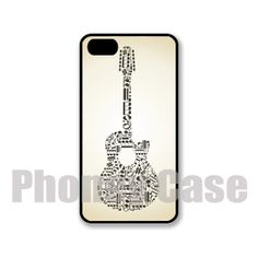 Iphone 4 4s 5 5s 5c Guitar Music iPhone Case 239 by PhoneyCase, $15.00