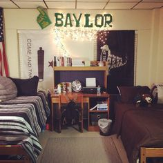 University Bedroom Pinterest