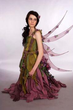 An Unusual Fairy Costume For Women Fantasy Costumes, Cosplay Costumes, Halloween Costumes, Fairy Costumes, Halloween Fairy, Faerie Costume, Fairy Cosplay, Autumn Fairy, Fairy Clothes