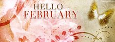 Hello February Facebook Cover coverlayout.com