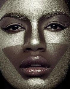 photographer ELENA JASIC makeup KYLIE BOUGHTER model EBONEE DAVIS @MC2