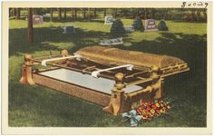 File:Sell the Wilbert Burial Vault and create future sales thru the use of our complete graveside service Burial Vaults, Boston Public Library, Casket, Vaulting, Funeral, Create, Wood, Future, Coffin