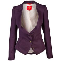 VIVIENNE WESTWOOD RED LABEL BLAZER via Polyvore