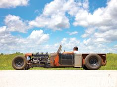 Rat Rod History 1929 Ford Roadster Pickup
