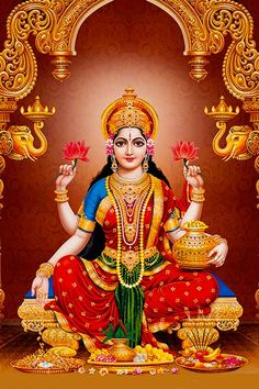 She is the wife and shakti (energy) of Vishnu, one of the principal deities of Hinduism and the Supreme Being in the Vaishnavism Tradition Saraswati Goddess, Saraswati Photo, Kali Goddess, Lakshmi Images, Lakshmi Photos, Lord Ganesha Paintings, Indian Goddess, Lord Vishnu Wallpapers, Krishna Art