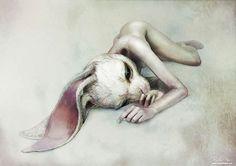 Une sélection des dernières créations surréalistes de l'artiste japonais Ryohei Hase, qui nous entraine dans un univers peuplé de créatures hybrides fas