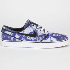 Nike Sb Zoom Stefan Janoski Pr Qs Mens Shoes White/Black/Deep Royal Blue In Sizes