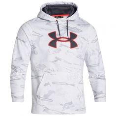 40% OFF!! Find the Under Armour Men's Camo Big Logo Hoodie - Ridge Reaper Snow by Under Armour at Mills Fleet Farm.  Mills has low prices and great selection on all Sweatshirts.