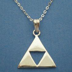 legend of zelda jewelry   Legend of Zelda Triforce Necklace