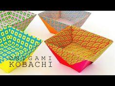 簡単折り紙小鉢 - YouTube