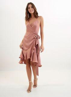 Chic Dress, Dress Skirt, Wrap Dress, Casual Dresses, Prom Dresses, Summer Dresses, Formal Dresses, Formal Chic, Girl Fashion