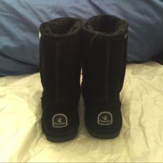 """BEARPAW Women's Emma 8"""" Boots Worn them probably 5 times since I bought them. I want to sell these and get Uggs instead. They're still in good shape! No box tho. BearPaw Shoes Winter & Rain Boots"""