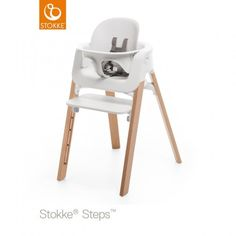 Stokke Steps Baby Set | JustKidding | This handy baby set attaches to your Stokke Steps Chair and is perfect for when baby can sit independently