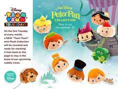 Peter Pan!!! November 2015 Tsum Tsum Tuesday release!!!