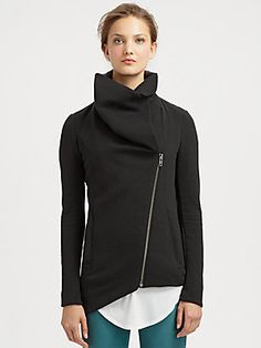 Helmut Lang HELMUT Asymmetrical Jacket. This looks really cool...
