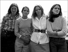Quatre soeurs photographiées chaque année pendant 40 ans