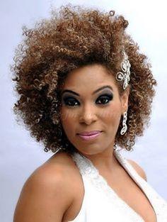 Stunning african american wedding hairstyles ideas 55