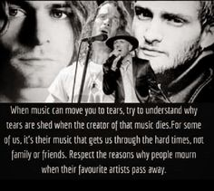 Chester needs to be added to this. Kinds Of Music, Music Love, Beautiful Songs, Beautiful Men, Scott Weiland, Mad Season, Temple Of The Dog, Stone Temple Pilots, Layne Staley