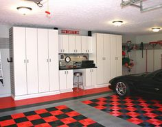 Many people realize the importance of garage floor coating as it determines the safety of their vehicle. The garage floor is in contact with oils, gasoline Best Garage Floor Coating, Garage Floor Coatings, Garage Flooring, Armoire Garage, Garage Cabinets, Tall Cabinets, White Cabinets, Diy Garage Storage, Garage Organization