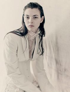 Pure (Interview Magazine): Paolo Roversi - Photographer  Ludivine Poiblanc - Fashion Editor/Stylist  Odile Gilbert - Hair Stylist  Marie Duhart - Makeup Artist  Jean-Hughes de Chatillon - Set Designer  Michelle Lee - Casting Director  Vittoria Ceretti - Model