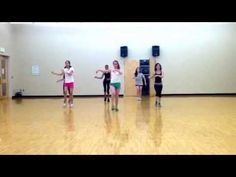 Zumba: Americano- Lady Gaga (Flamenco style) - YouTube
