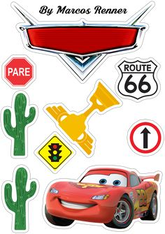 Cars de disney manualidades Ideas Source by Lightning Mcqueen, Mc Queen Cars, Disney Cars Party, Disney Cars Cake, Car Themed Parties, Cars Birthday Parties, Diy Halloween Decorations, Halloween Diy, Planner Stickers