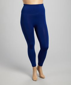 Royal Blue High-Waist Leggings - Plus Royal Blue Leggings, Jeans Pants, High Waist, Usa, Fashion, Flare Leg Jeans, Moda, Fashion Styles, Fashion Illustrations