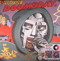 Mf Doom - Operation: Doomsday (reissue) (Metal Face) #vinyl #records #vinylrecords #dj #music #HipHop