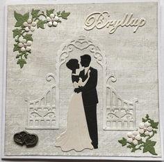Bryllups kort, Wedding card
