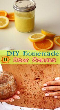 11 DIY Homemade Body Scrub Recipes