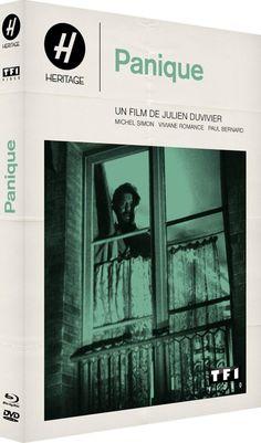 Digibook panic Edition Collector Blu-ray + DVD + Booklet: Amazon.fr: Viviane Romance, Michel Simon, Max Dalban, Émile Drain Guy Favières, Florencie Louis, Julien Duvivier: DVD & Blu-ray