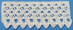 1884 Knitted Lace Sample Book: 34. French Lace